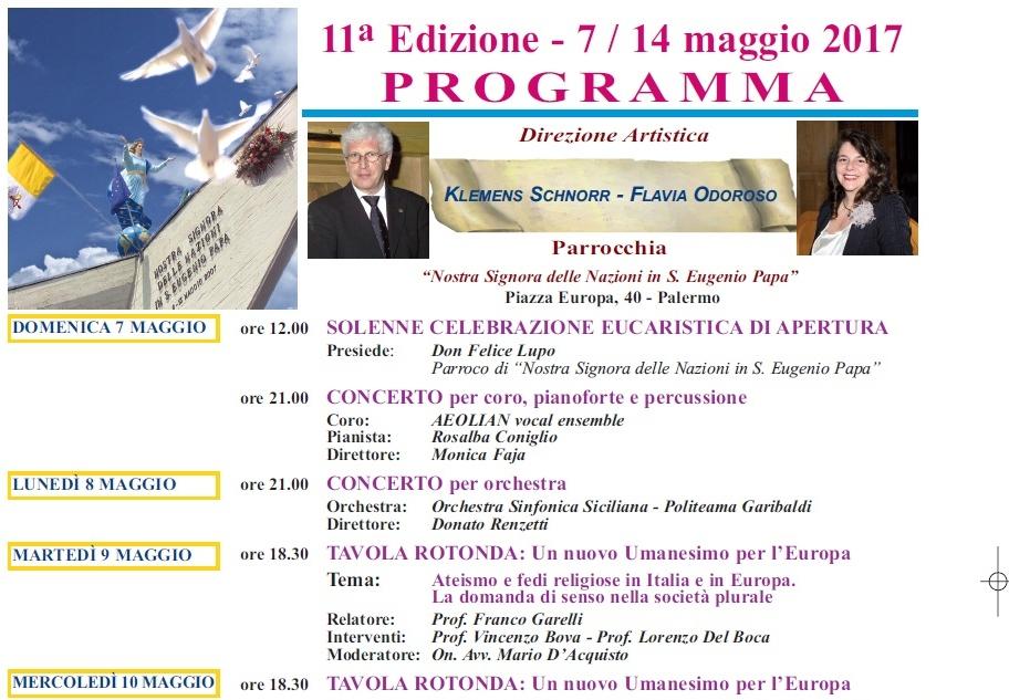 La settimana europea a Palermo   Vincenzo Paglia