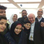 Au Liban, Mgr Vincenzo Paglia rencontre les réfugiés syriens et irakiens, dans l'attente de partir avec les couloirs humanitaires